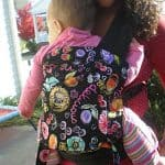 Babywearing Review and Giveaway: Abuela's Baby Creations Buckle Tai