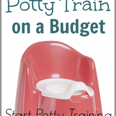 Start Potty Training: How to Potty Train on a Budget