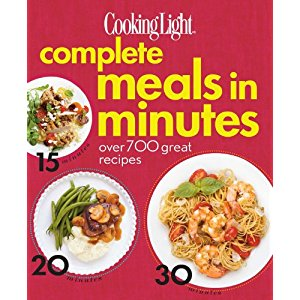 Holiday Gift Ideas: Cooking Light: Complete Meals in Minutes Cookbook