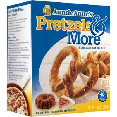 Holiday Gift Ideas: Auntie Anne's At-Home Baking Kit