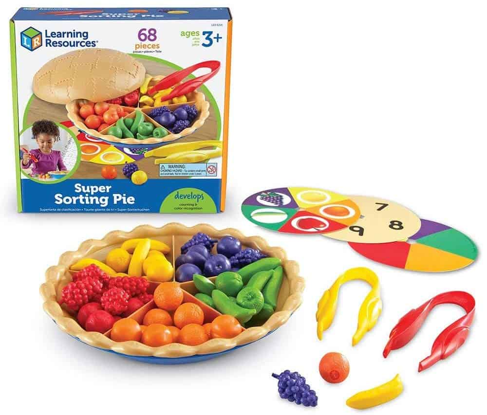 super sorting toy pie