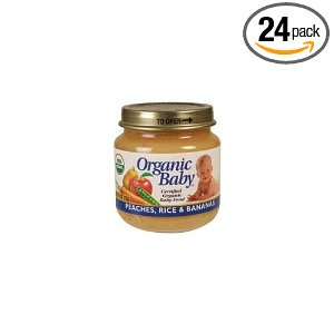 24 Jars of Organic Baby Food for $10, Free Shipping
