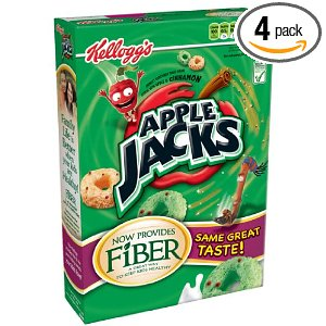 4 Boxes of Apple Jacks Cereal for $7.33, Free Shipping
