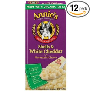 Annie's Homegrown Shells & Cheese for $1.19 per Box, Free Shipping