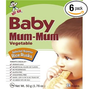 Save 35% on Baby Mum-Mum Rice Snack Biscuits