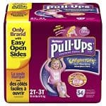 Huggies Pull-Ups Training Pants: 54-Count Package for $12.39 (or Less)
