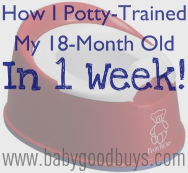 potty training 18 months