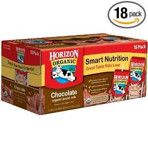 Save 41% on an 18-Pack of Horizon Organic Chocolate Milk