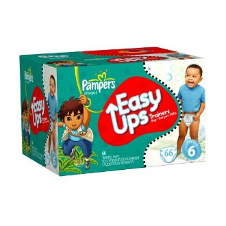 Pampers Easy Ups Training Pants as Low as $7.94 {Over 50% off!}, Free Shipping Eligible