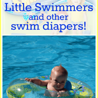 Frugal Baby: Can You Wash and Reuse Disposable Swim Diapers?