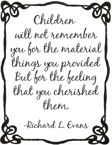 What Will Remember Your Children