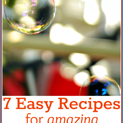 How to Make Bubbles for Kids: 7 of the Best Homemade Bubble Recipes!