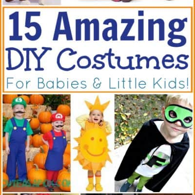 DIY Baby Halloween Costumes: 15 Homemade Costumes for Babies and Little Kids!