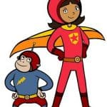 DIY Wordgirl & Captain Huggyface Halloween Costumes + How to Make Superhero Costumes