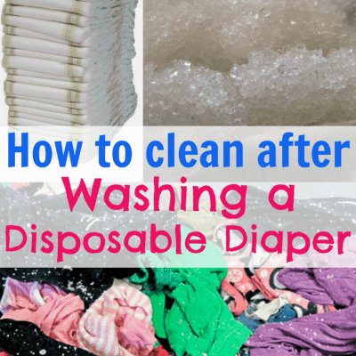 diaper in washer