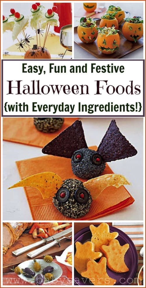 Halloween Party Food Ideas: Easy Halloween Recipes!