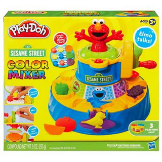 Holiday Gift Idea Play Doh Sesame Street Color Mixer