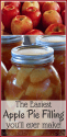 Easy Apple Pie Filling