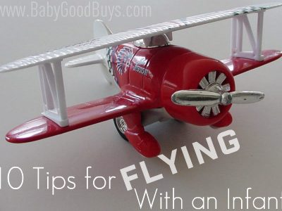10 Tips for Traveling and Flying with a Baby