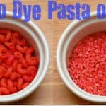 How to Dye Pasta or Rice for Arts & Crafts {And my Fear of Color-Related Messes}
