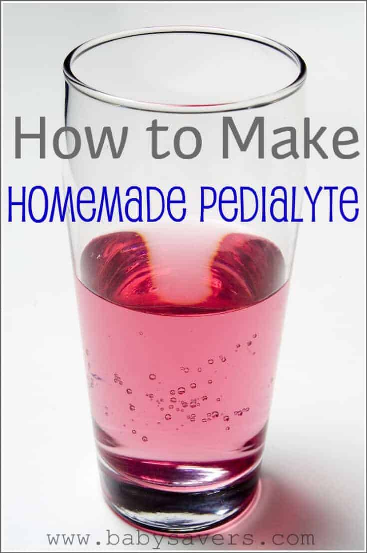 The best DIY Homemade Pedialyte recipe so you can learn how to make pedialyte for babies, toddlers, kids, adults and even pets!