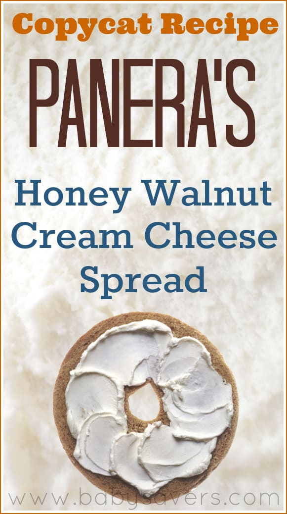 panera honey walnut cream cheese recipe