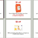 17 New Printable Baby Coupons from Target.com: Save Up to $47!