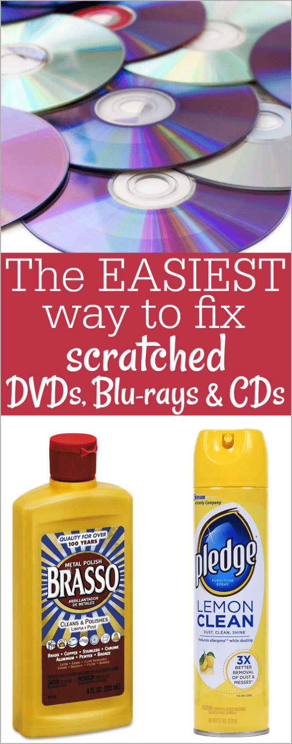 best way to fix scratched dvds cds blu rays