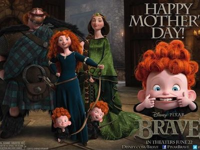 disney pixar brave trailer preview images