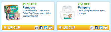 image about Pampers Wipes Printable Coupons named Presently Obtainable Pampers Printable Coupon codes for Diapers