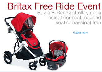 Britax Free Ride Event: Get Up to $550 in FREE Britax Items!