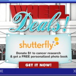 Shutterfly: Donate $1 to Cancer Research And Get a Free Photo Book! {+S&H}