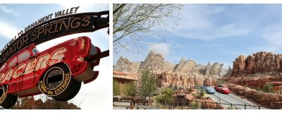 5 Great Things about the Radiator Springs Racers Ride at Disneyland's new Cars Land