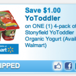 New High-Value YoToddler Organic Yogurt Printable Coupon!