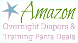 Amazon's Diaper Deals & Prices for Overnights and Training Pants