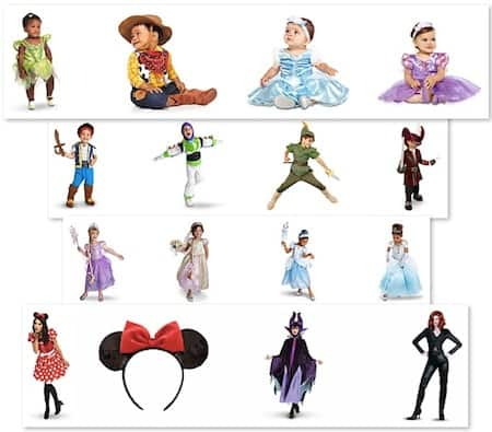 DisneyStore.com: Save 25% on Halloween Costumes with FREE Shipping!