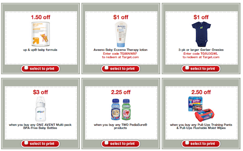 26 target printable baby coupons available now