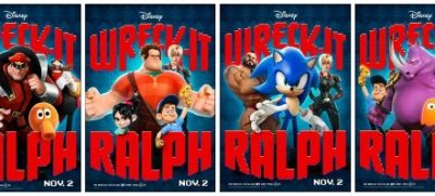 Fun New Posters for Disney's Wreck-It Ralph {In Theaters 11/2/12}!