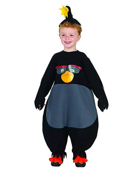 Angry Birds Bomb Toddler Halloween Costume