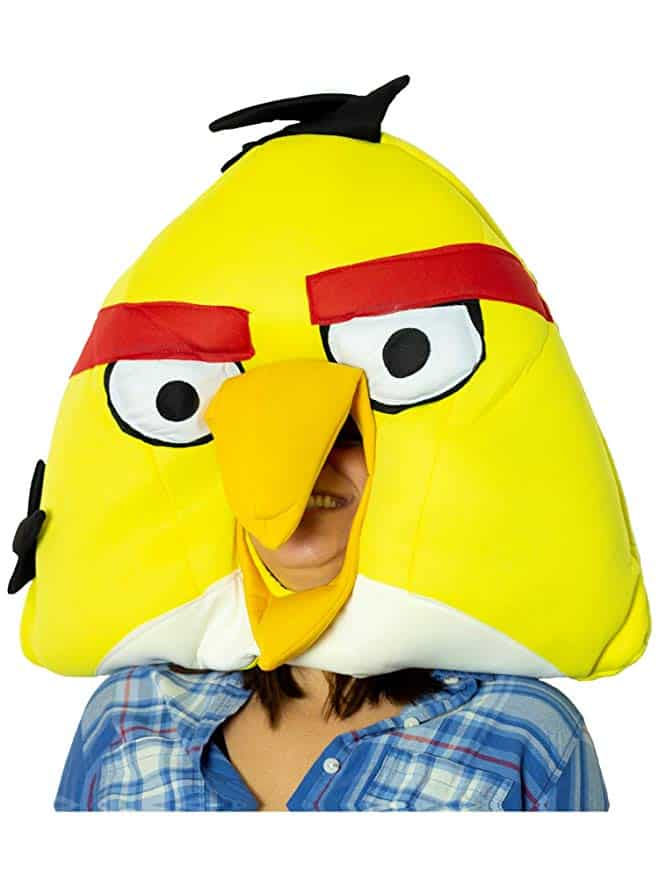 Angry Birds Costume yellow mask