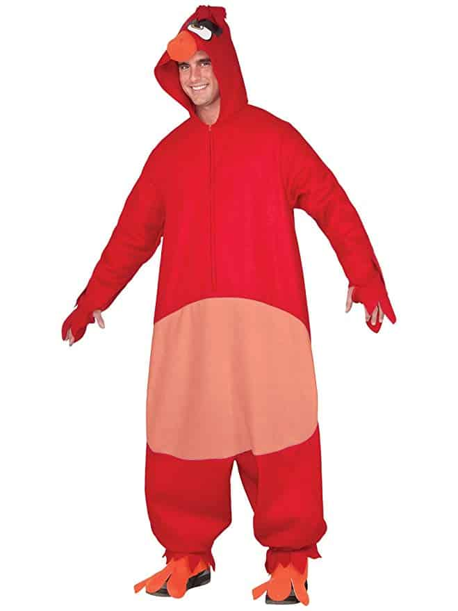 Angry Birds Red Halloween Costume adult