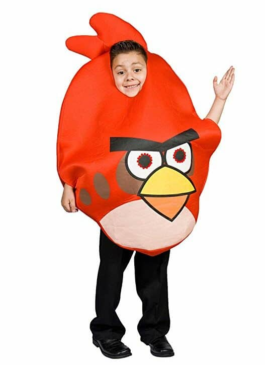 Angry Bird Red costume with lights