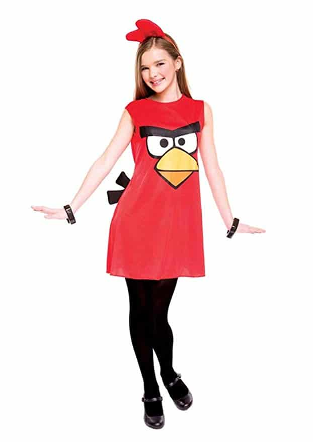 Angry Birds Red Dress child halloween costume