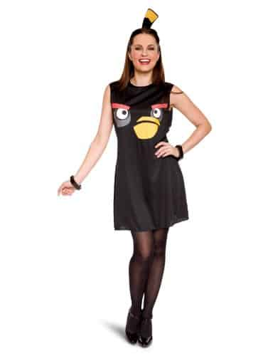 Angry Birds costume black dress bomb