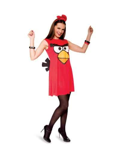 Angry Birds costume red dress