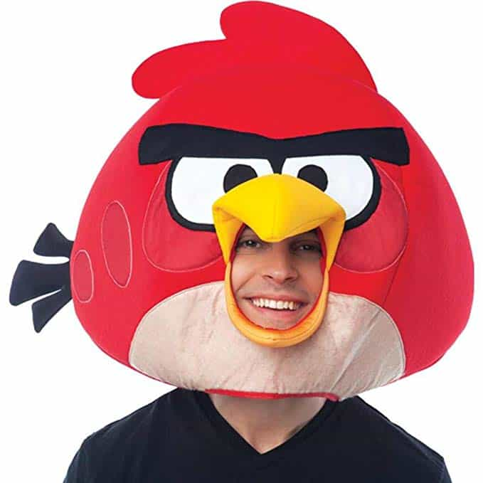 Angry Birds Costume red mask