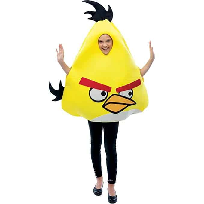 Angry Birds Costume Chuck