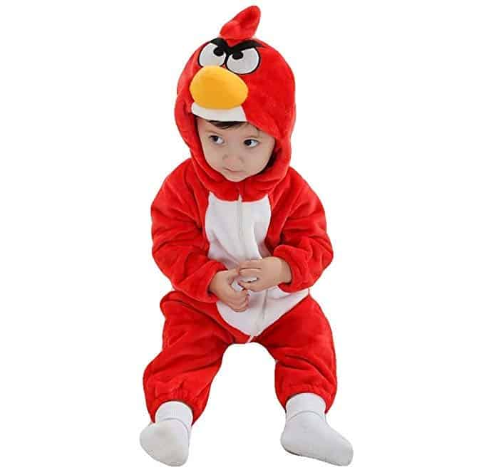 Angry Birds Red baby costume