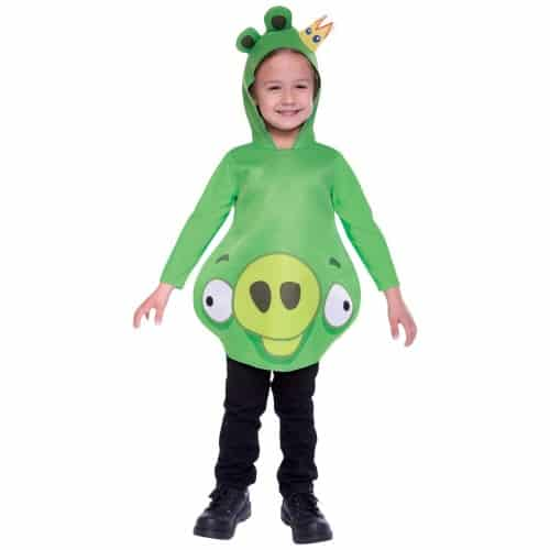Angry Birds toddler king pig costume
