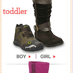 New Stride Rite Promo Code: Save 25% on Boots for Babies and Kids